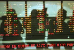 Volume negociado na B3 durante o jogo do Brasil foi de R$ 900 milhões Foto: Nilton Fukuda / O Globo