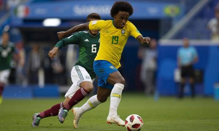 Resultado de imagem para brasil contra mexico