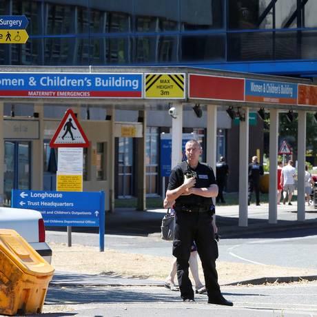 Polícia apura a morte de bebês na unidade neonatal do Hospital Countess of Chester Foto: ANDREW YATES / REUTERS