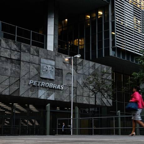 Edifício da Petrobras no Centro do Rio Foto: Pedro Teixeira/Agência O Globo