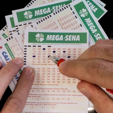 Cartelas da Mega-Sena Foto: Arquivo O Globo