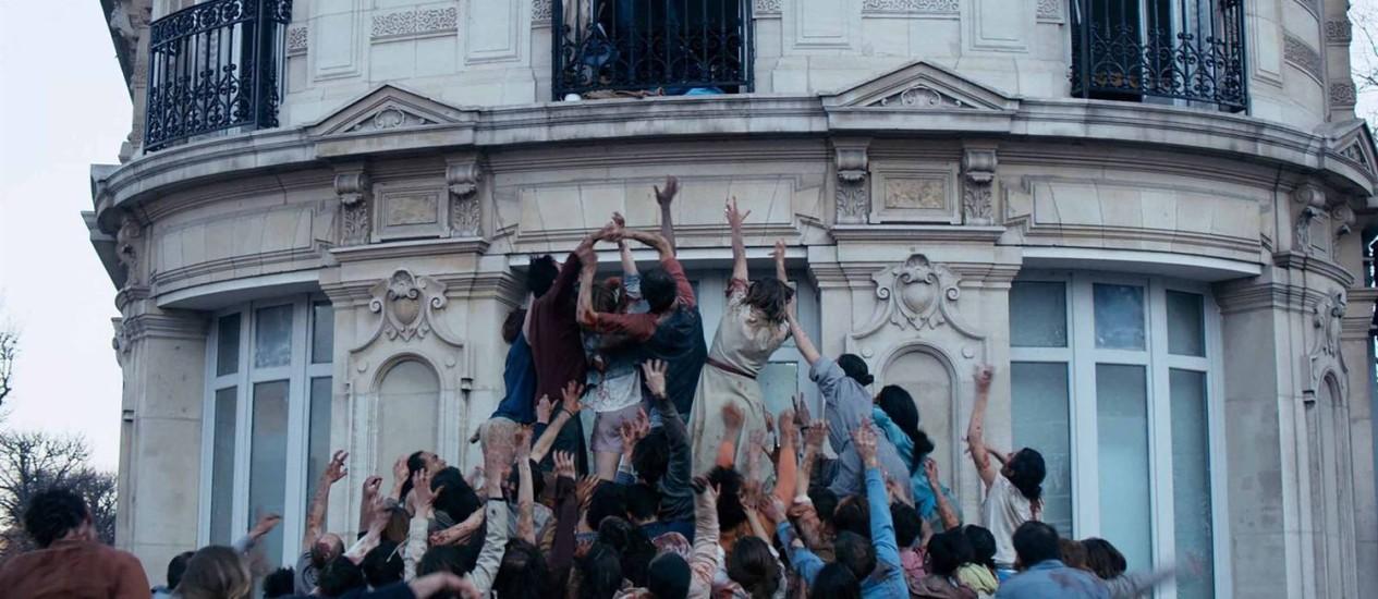 Cena do filme 'A noite devorou o mundo' Foto: Divulgação