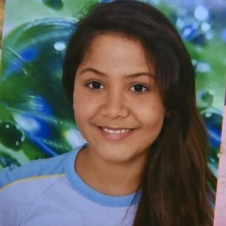 Vitória Gabrielly desapareceu em Araçariguama, no interior de São Paulo Foto: Reprodução TV Tem
