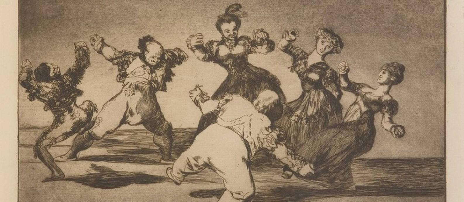 Exposição 'Loucuras anunciadas' traz gravuras de Francisco de Goya Foto: Divulgação