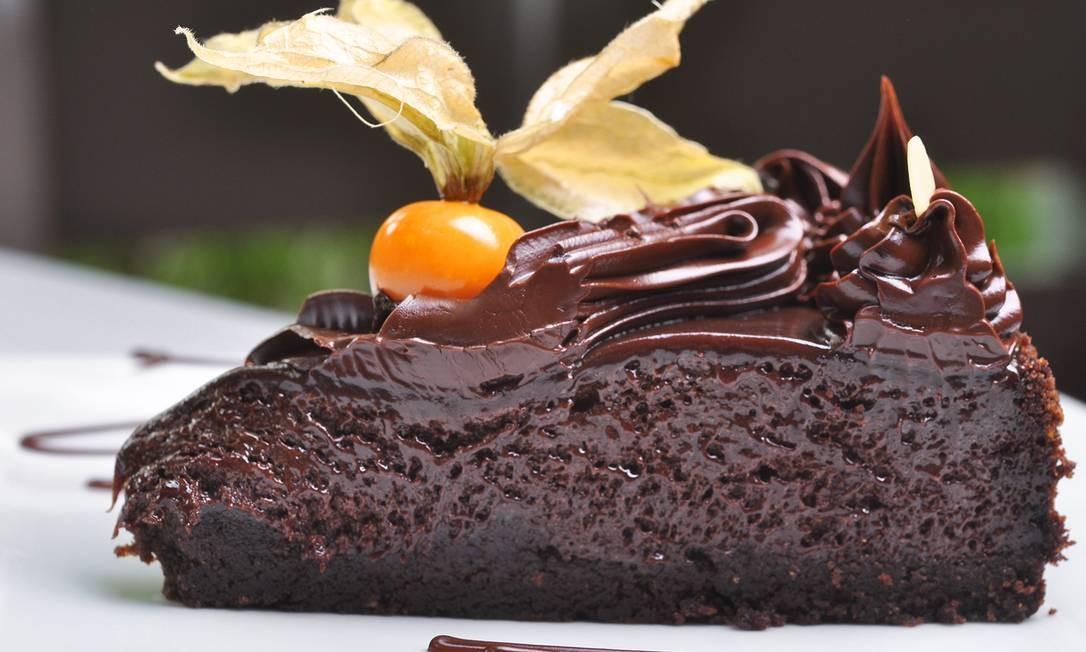 Zinho Bier. Torta de chocolate com Nutella (R$ 6,50). Rua São Luis Gonzaga, Benfica (3890-1704) Foto: Divulgação
