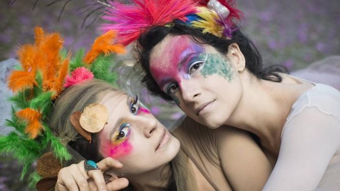 Duo Gisbranco: poemas de Chico Cesar inspiraram disco das artistas Foto: Divulgação