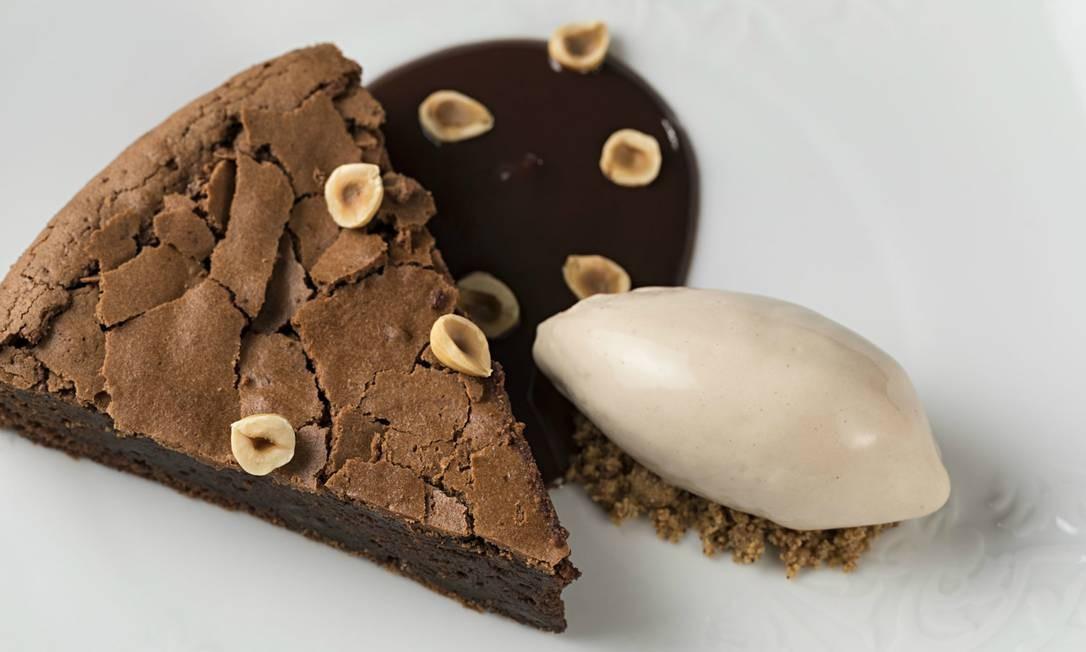 Pici Trattoria. A torta piemontese (R$ 29) é servida com de Nutella, avelãs tostadas e sorvete nocciola. R. Barão da Torre 348, Ipanema (2247-6711) Rodrigo Azevedo / Divulgação