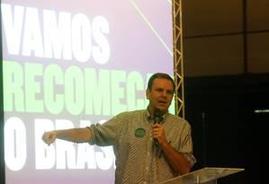O pré-candidato do DEM ao governo do Rio, Eduardo Paes 09/06/2018 Foto: Guilherme Pinto / Agência O Globo