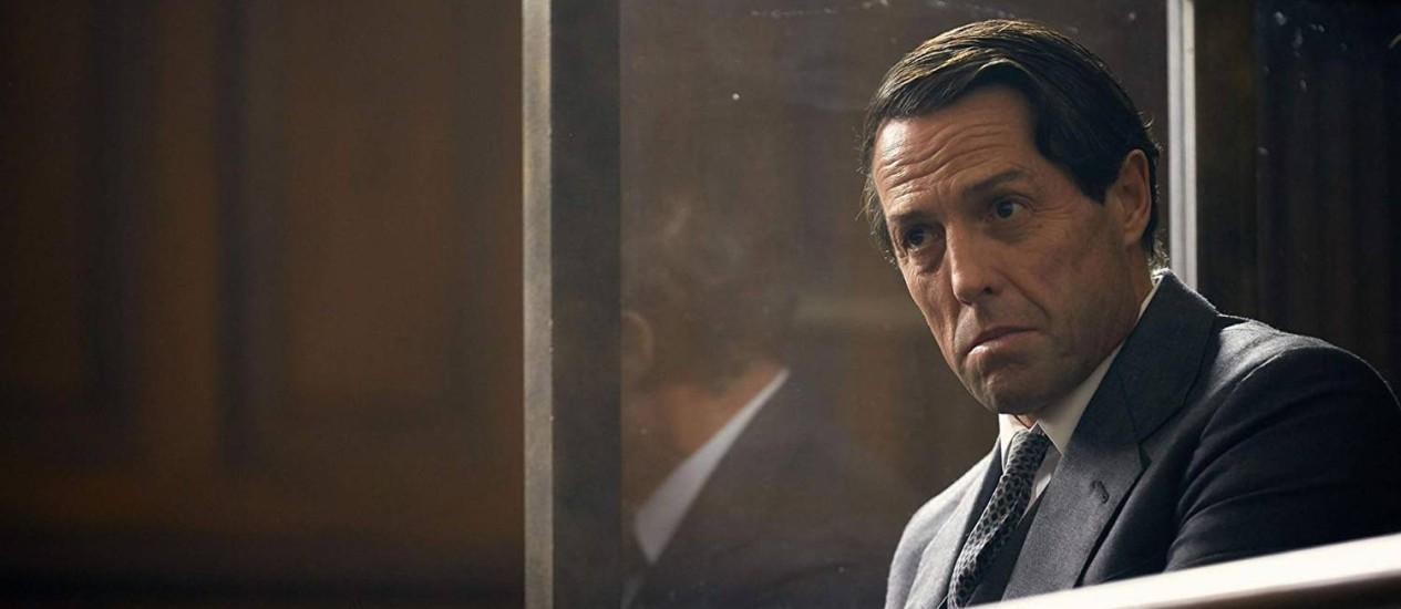 Hugh Grant em 'A very english scandal' Foto: Reprodução