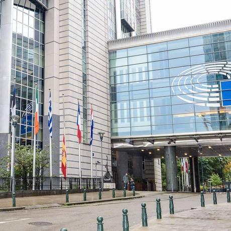 Plenário do Parlamento Europeu rejeitou proposta que havia sido aprovada em comissão Foto: Claude WOUTERS / Parlamento Europeu