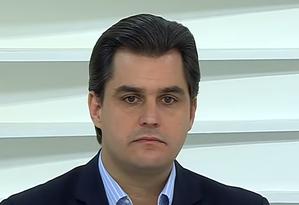 Frederico D'Ávila em participação no programa Roda Viva Foto: Reprodução / TV Cultura