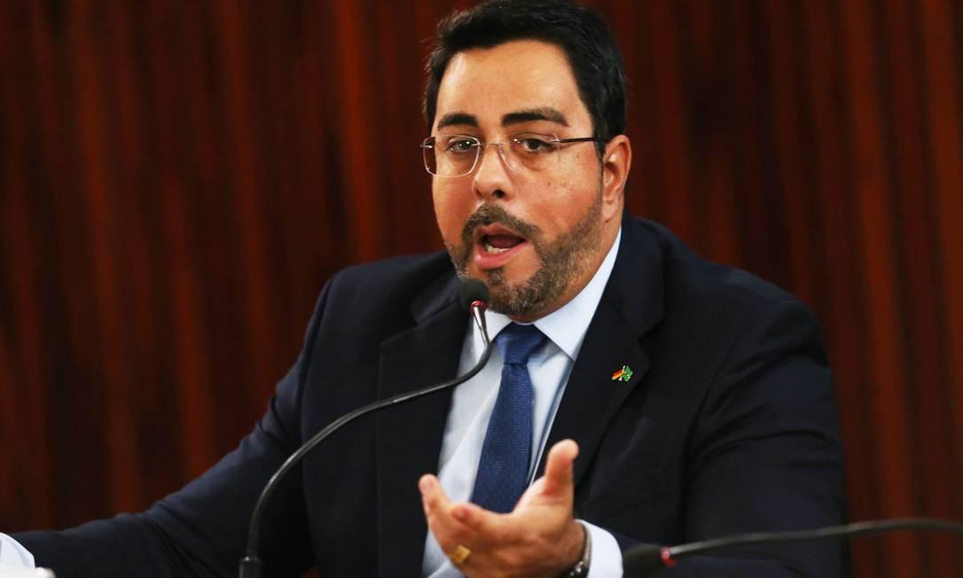 O juiz federal Marcelo Bretas, em fórum na cidade de Brasília Foto: Givaldo Barbosa / Agência O Globo