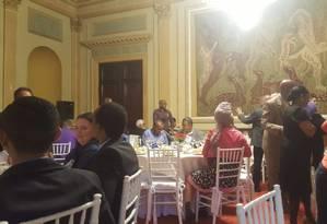 Pastores e líderes evengélicos participam de agenda secreta do prefeito do Rio no Palácio da Cidade Foto: Reprodução