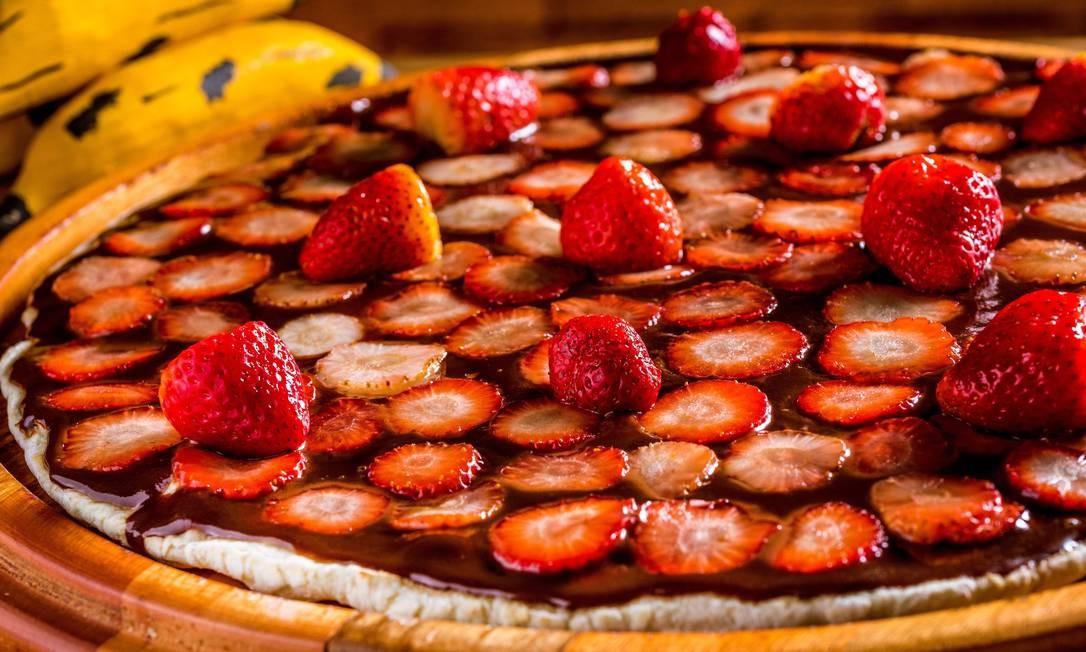 Banana Jack. A de chocolate com moranço pode ser opção de sobremesa Foto: Filico / Divulgação