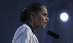 Marina Silva (Rede) participa de eventos com pré-candidatos na CNI Foto: Daniel Marenco/Agência O Globo/04-07-2018
