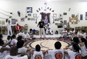 Roda de capoeira. O Grupo Senzala organiza o Roda Mundo Capoeira há seis anos Foto: Divulgação