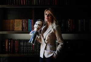 """A empresária Letícia Catelani diz não se sentir ofendida por declarações machistas de Bolsonaro: """"Não me vitimizo"""" Foto: Marcos Alves / Agência O Globo"""