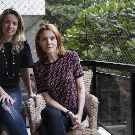 Samantha Szczerb e Anna Levi, lesadas pela agencia Sky num pacote para os Estados Unidos Foto: Gustavo Miranda / Gustavo Miranda