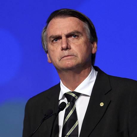 O presidenciável Jair Bolsonaro (PSL) já mostrou simpatia pelas milícias Foto: Edilson Dantas / Agência O Globo