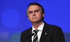 O presidenciável Jair Bolsonaro (PSL) Foto: Edilson Dantas / Agência O Globo