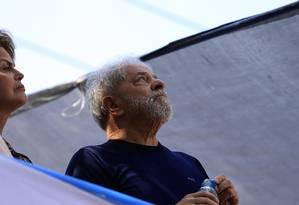 O ex-presidente Lula foi preso no dia 7 de abril Foto: Edilson Dantas 07-04-2018 / Agência O Globo