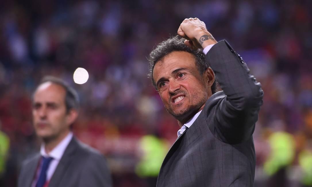abc738a807 Luis Enrique teve passagem vitoriosa pelo Barcelona Foto  JOSEP LAGO   AFP