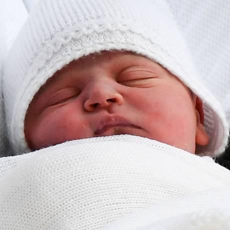 Príncipe Louis, quinto na linha de sucessão ao trono britânico Foto: BEN STANSALL / AFP
