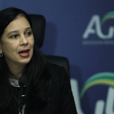 A advogada-geral da União, Grace Mendonça, durante entrevista Foto: Jorge William/Agência O Globo/12-12-2017