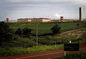 Penitenciária federal de seguranca máxima de Catanduvas, no Paraná Foto: Marizilda Cruppe/Agência O Globo/07-12-2010