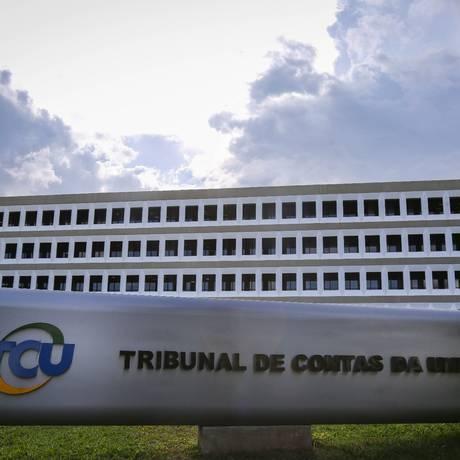 Tribunal de Contas da União, em Brasília Foto: André Coelho/Agência O Globo/15-03-2017