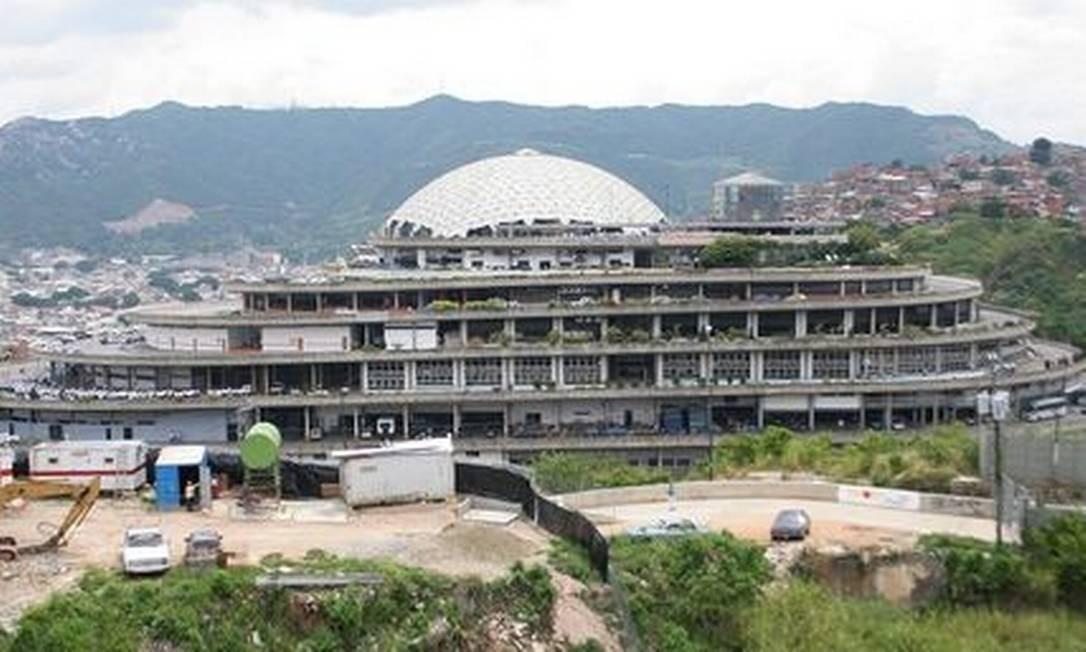 O Helicoide, sede do serviço secreto venezuelano (Sebin) que também funciona como prisão Foto: Reprodução