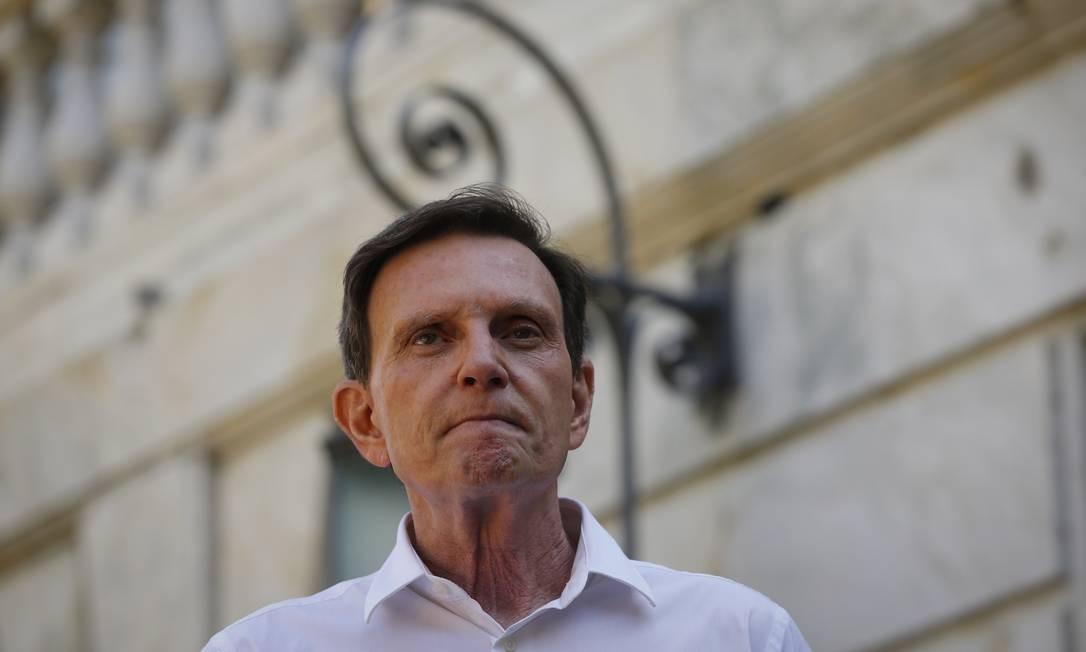 Após pedidos de impeachment, prefeito do Rio está sob pressão Foto: Pablo Jacob / Agência O Globo