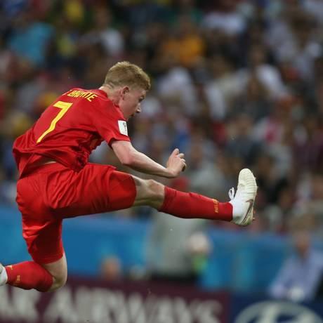 O meia belga Kevin De Bruyne. Foto: Foto: Roman Kruchinin / AFP