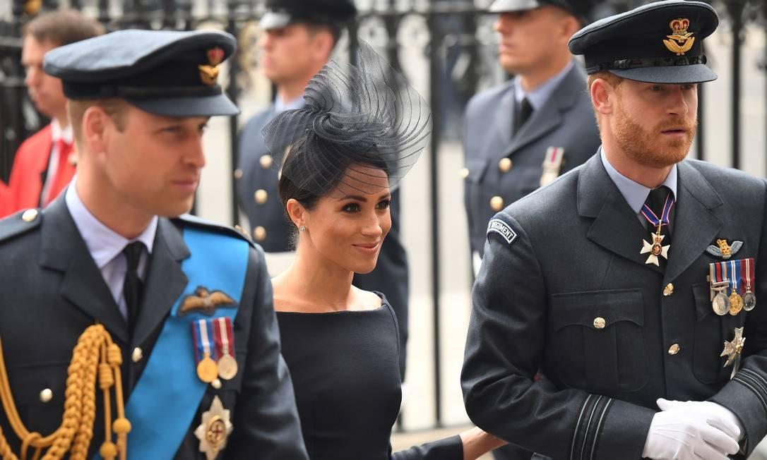 Mais da família real CHRIS J RATCLIFFE / AFP