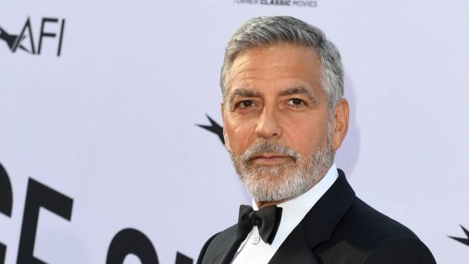 O ator americano George Clooney Foto: VALERIE MACON / AFP