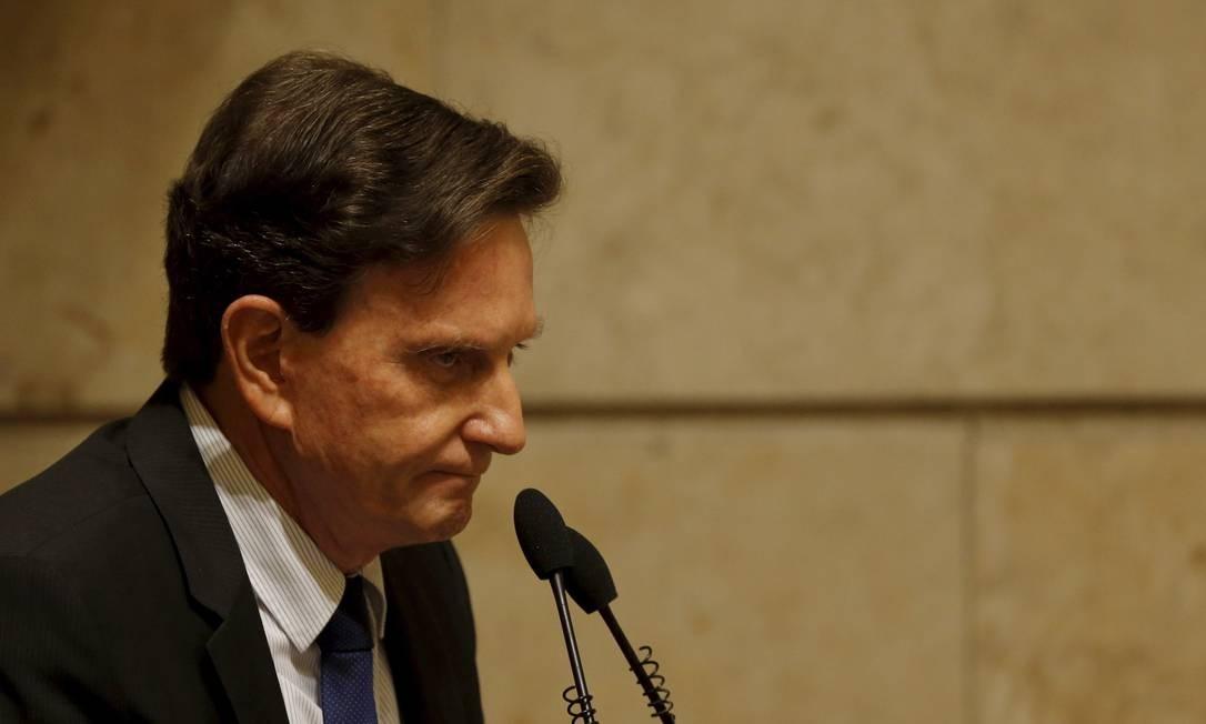 Crivella exonerou administradores regionais nesta terça-feira Foto: Gabriel de Paiva 15-12-2016 / Agência O Globo