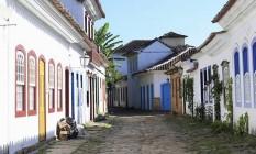 As pacatas ruas de Paraty ficarão movimentadas com a realização da Flip Foto: Flavio Pinheiro / Divulgação