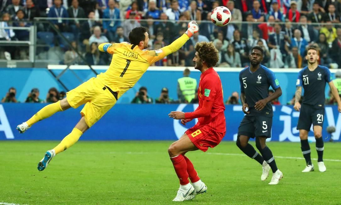 Semifinal da Copa. França e Bélgica no Estádio São Petersburgo, São Petersburgo, Rússia MICHAEL DALDER / REUTERS