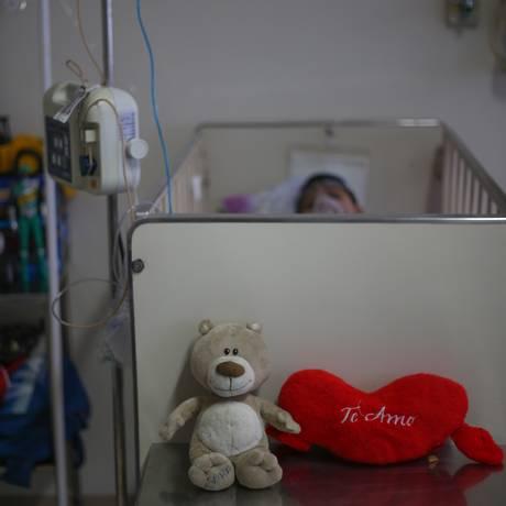 Crianças com leucemia receberam medicamentos que não têm eficácia comprovada cientificamente Foto: Marcos Alves/06-01-2016