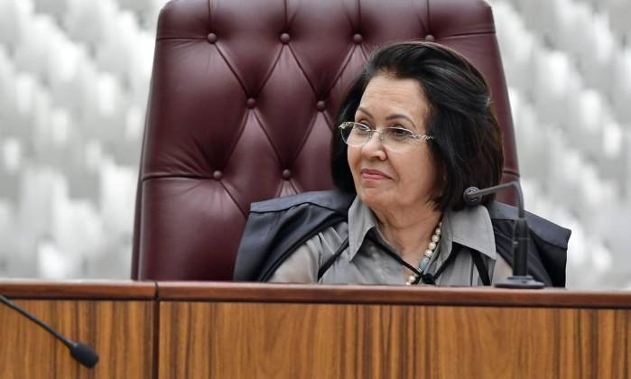Resultado de imagem para ministra Laurita Vaz
