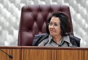 A presidente do Superior Tribunal de Justiça (STJ), ministra Laurita Vaz Foto: GUSTAVO LIMA / divulgação/STJ