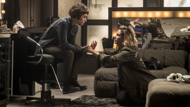 Manu (Luisa Arraes) confronta Luzia (Giovanna Antonelli) Foto: Divulgação/TV Globo/João Cotta