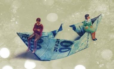 Amor e dinheiro Foto: Arte de Dushka e Mayu Tanaka sobre ilustração Shutterstock