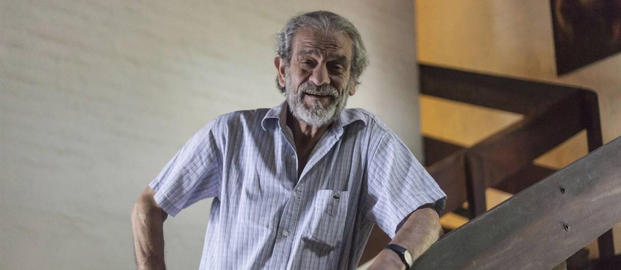 Mario Sabato: autor decidiu escrever livro de memórias após boa recepção nas redes sociais Foto: La Nacion / Arquivo
