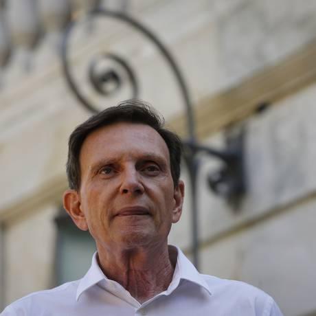 O prefeito Marcelo Crivella: TCM atestou que unidades de saúde atendem pacientes fora do Sistema de Regulação Foto: Arquivo / 01/06/2018 / Pablo Jacob / Agência O Globo