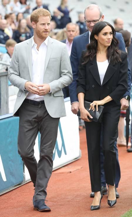 Mais do casal real Foto: Chris Jackson / Getty Images