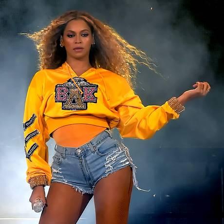 Beyoncé no Coachella, em abril de 2018 Foto: Kevin Winter / Getty Images for Coachella