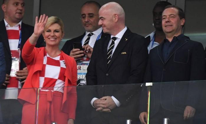 Resultado de imagem para como a presidenta da croacia se vestem