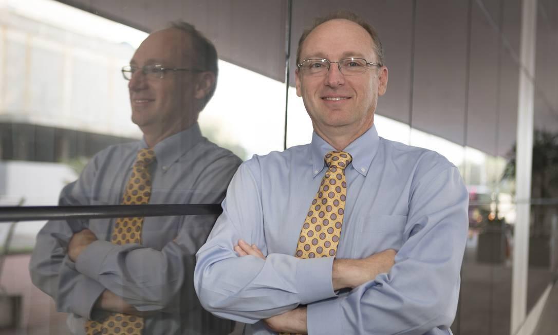 Biólogo americano veio ao Rio para fazer palestra no IEEE World Congress on Computational Intelligence Foto: Roberto Moreyra
