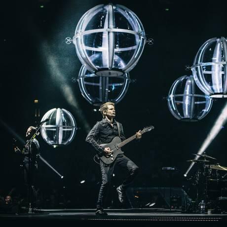 'Drones world tour', da banda Muse Foto: Hans-Peter van Velthoven / Divulgação/Hans-Peter van Velthoven